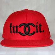Image of FUCCIT (RED) SNAPBACK