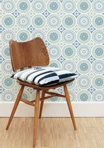 Image of Darjeeling Wallpaper - Chalkhill Blue
