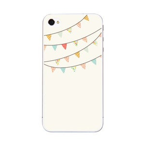 Image of Pretty Bunting - iPhone 5 & 4 Sticker