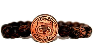 Image of Original Logo Wooden Bracelet