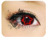 Image of RARE Sasuke Uchiha Eternal Mangekyou Sharingan Contacts Cosplay Lens
