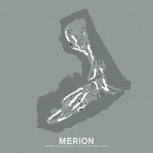 Image of Merion Golf Club Screenprint