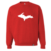 Upper Peninsula Crewneck - Watermelon