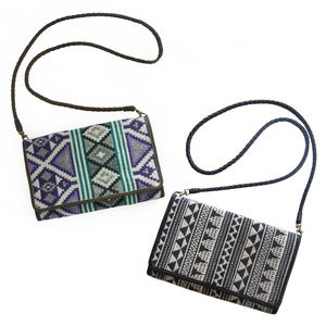 Image of SHANTI Purse in Jacquard/Leather