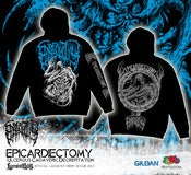 Image of EPICARDIECTOMY - Ulcerous Cadaveric Decrepitation - HOODIE