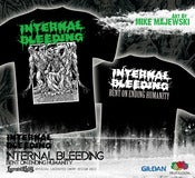 Image of INTERNAL BLEEDING - Bent On Ending Humanity - TS