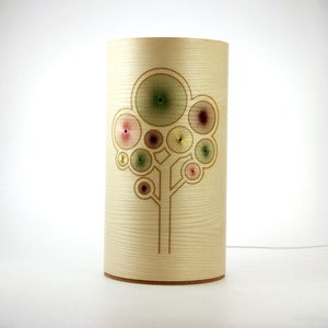 Image of Ash freestanding lamp. Tree.