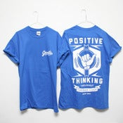 Image of POSITIVE THINKING T-Shirt - Royal Blue
