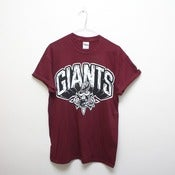 Image of GIANTS - Concrete Shirt MAROON
