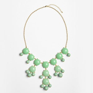 Image of Sea Green Bubble Necklace