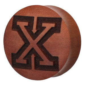 "Image of Saba ""X"" Wood Plug"