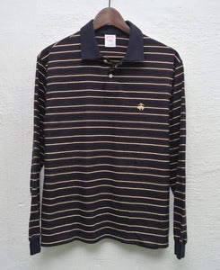 Image of Brooks Brothers long sleeve polo shirt (M)