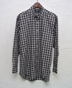 Image of Ralph Lauren plaid shirt (L) #5