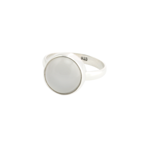Image of Luna. Moonstone Silver Ring