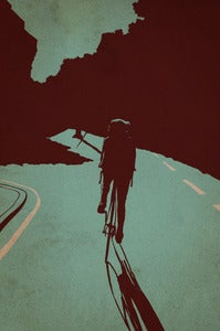 Image of 'Night Ride' print by Adams Carvalho