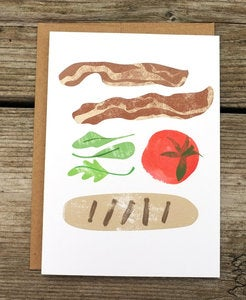 Image of BLT Card by Redcruiser
