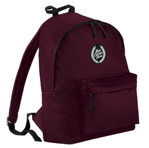 Image of BLUE CORNER STORE MAROON BACKPACK