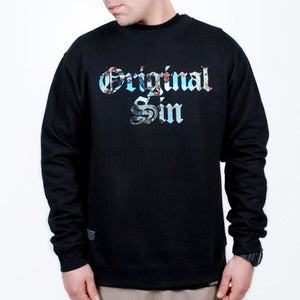 Image of Original Sin Crewneck (Black)
