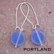 Image of Simple Seaglass Earrings