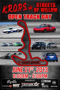 Image of KROPS@SOW Track Day Registration - June 21, 2013
