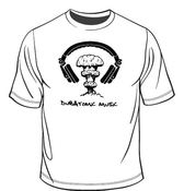 Image of DubAtomic Music White T