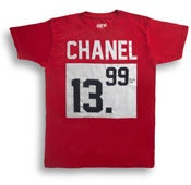 Image of #PLUSTax: CHANEL RED TEE