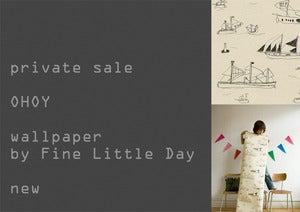 Image of Fine Little Day wallpaper OHOY ° private sale