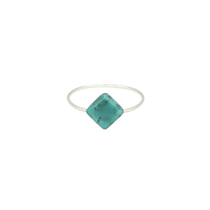 Image of Zuri. Turquoise Stone Knuckle Ring