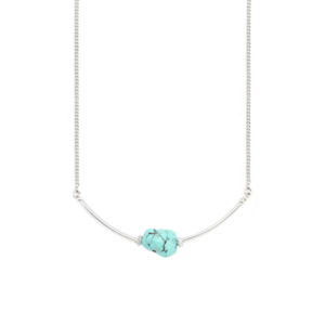 Image of Liv. Turquoise Short Necklace