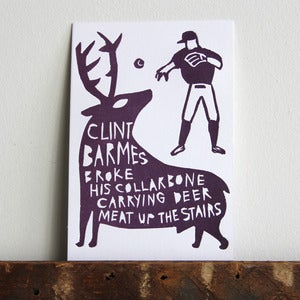 Image of Bizarre Injuries: Clint Barmes