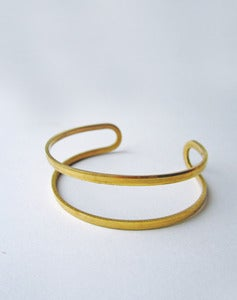 Image of Artemis Double Band Cuff Bracelet