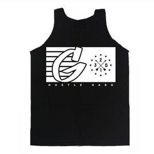 Image of Black G Flag Tank Top