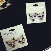 Image of Leopard Studs