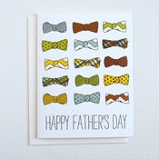 Image of Bow Tie Father's Day Card