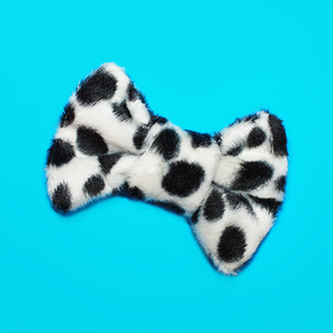 Image of Micro Mini Dalmatian Hair Bow