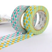 Image of Squares - mt Washi Tape Duo