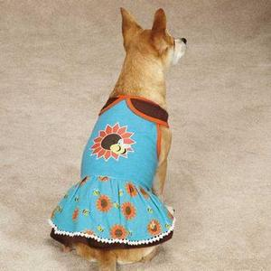 Image of Zack & Zoey Flutter Bugs Dog Dress - Bumble Bee
