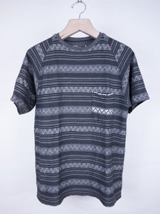 Image of White Mountaineering - Jacquard Stripe Pocket Tee