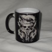 Image of FURYON skulls Heat-Reacting MUG 
