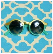 Image of La la Hollywood Two Tone Sunglasses