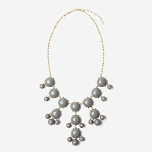 Image of Gray Bubble Necklace