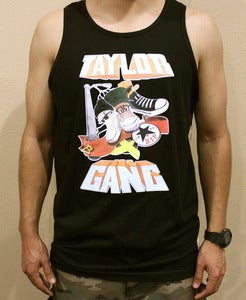 "Image of ""Taylor Gang"" Tank in Black"