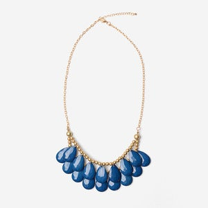 Image of Royal Blue Briolette Necklace