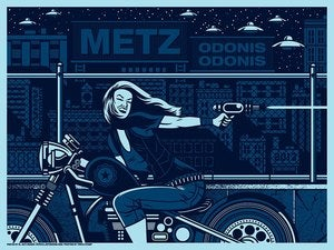 Image of METZ - Washington, DC - Concert Poster