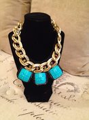 Image of Heather's Closet: Aqua Hearts