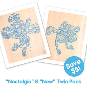 Image of &quot;Nostalgia&quot; &amp; &quot;Now&quot; twinpack