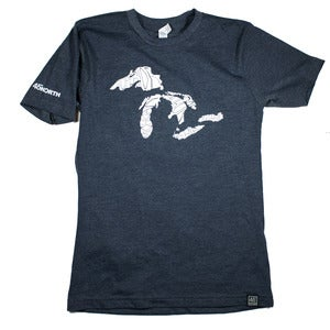 Image of Great Lakes T-Shirt Indigo