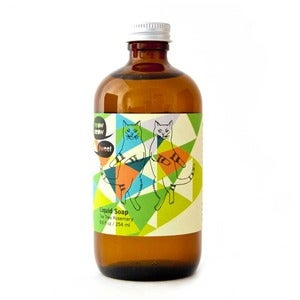 Image of TEA TREE ROSEMARY LIQUID SOAP