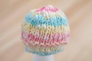 Image of Newborn rosegarden beanie RTS