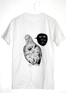 Image of 'Haters Gonna Hate' Pigeon T-Shirt